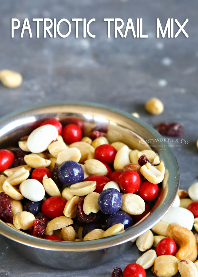 Patriotic Trail Mix Recipe