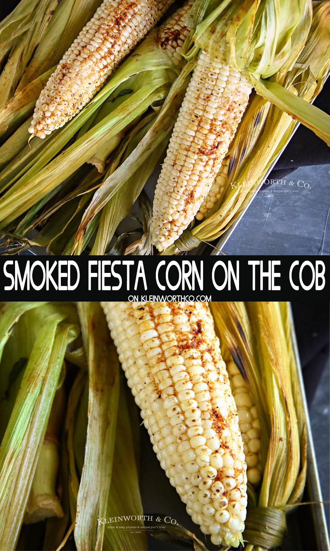 Smoked Fiesta Corn on the Cob