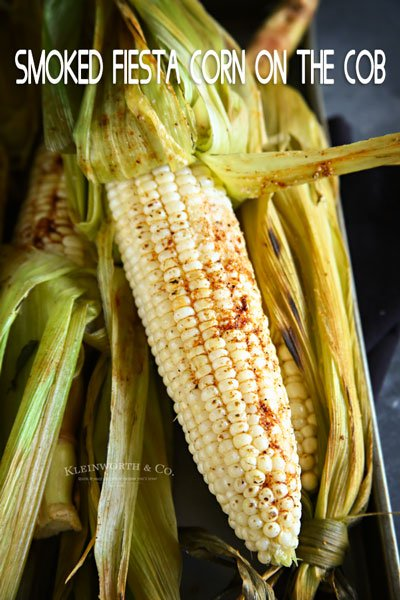 Smoked Fiesta Corn on the Cob