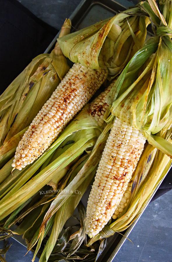 smoked corn on the cob recipe