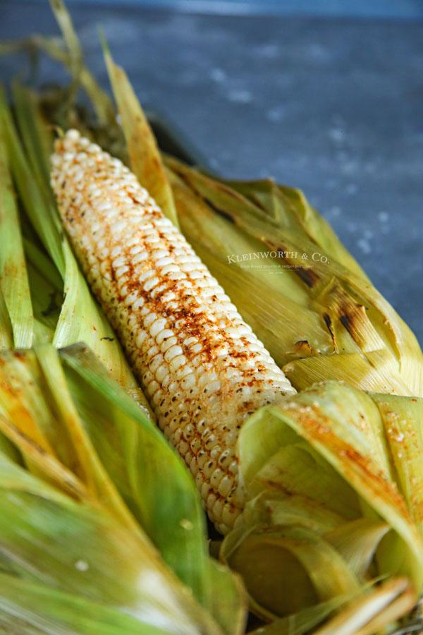 how to smoke corn on the cob