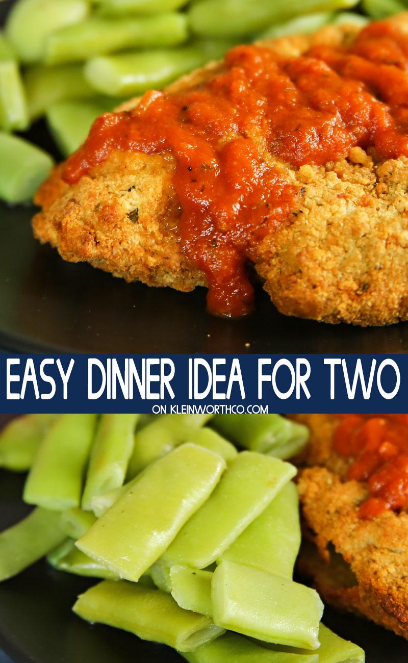 Easy Dinner Idea for Two
