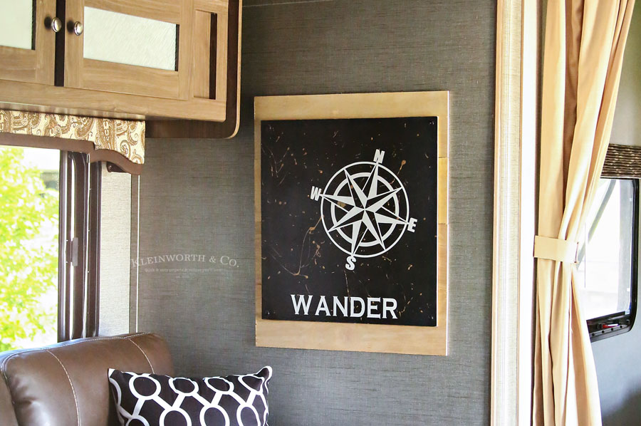 Wander Sign Camper Decor