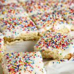 Birthday Frosted Sugar Cookie Bars