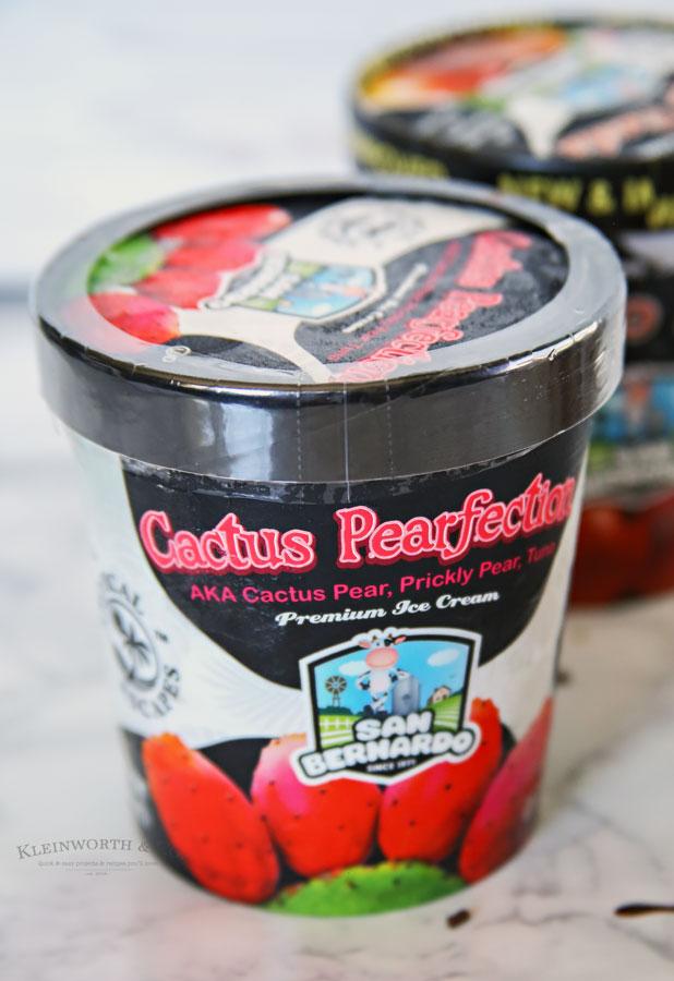 Cactus Pearfection Ice Cream