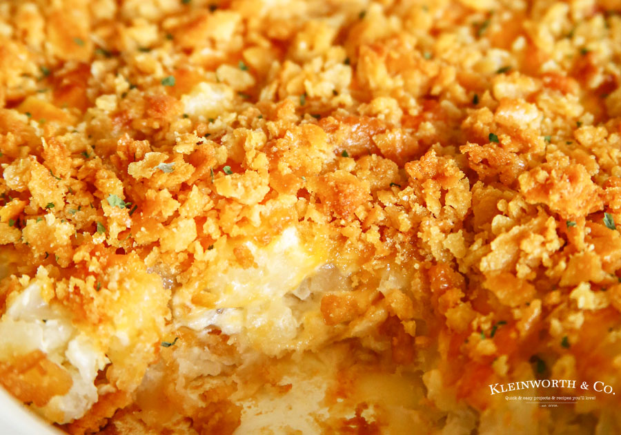 Party Potatoes - Cheesy Potato Casserole