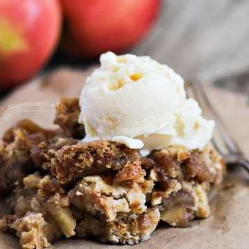 apple crisp with oats
