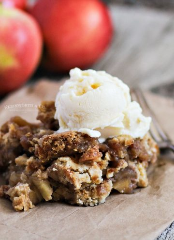 apple crisp with oats