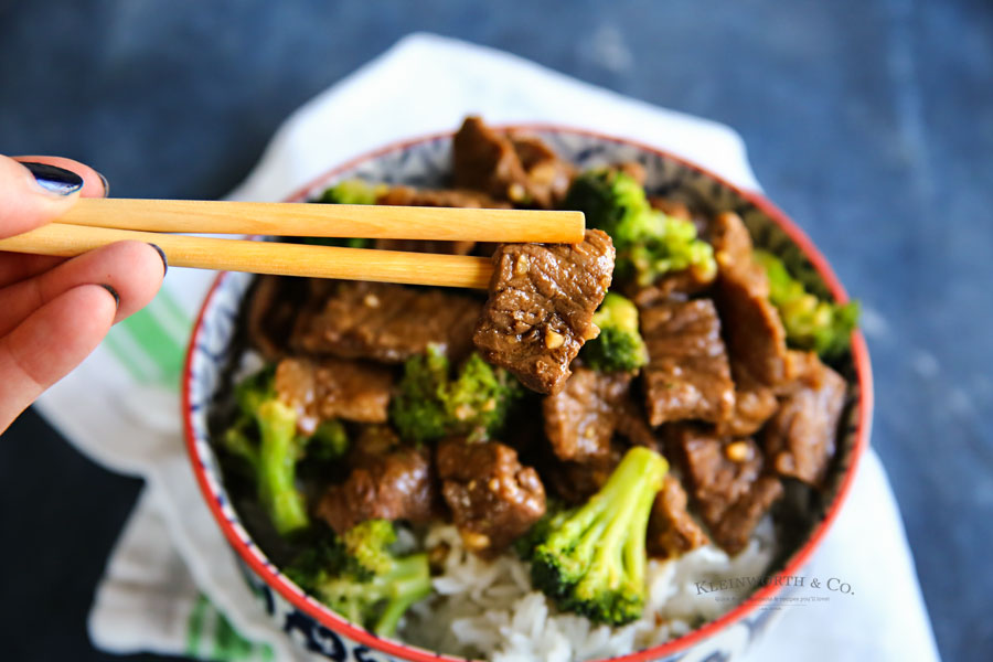 Instant Pot Beef Broccoli