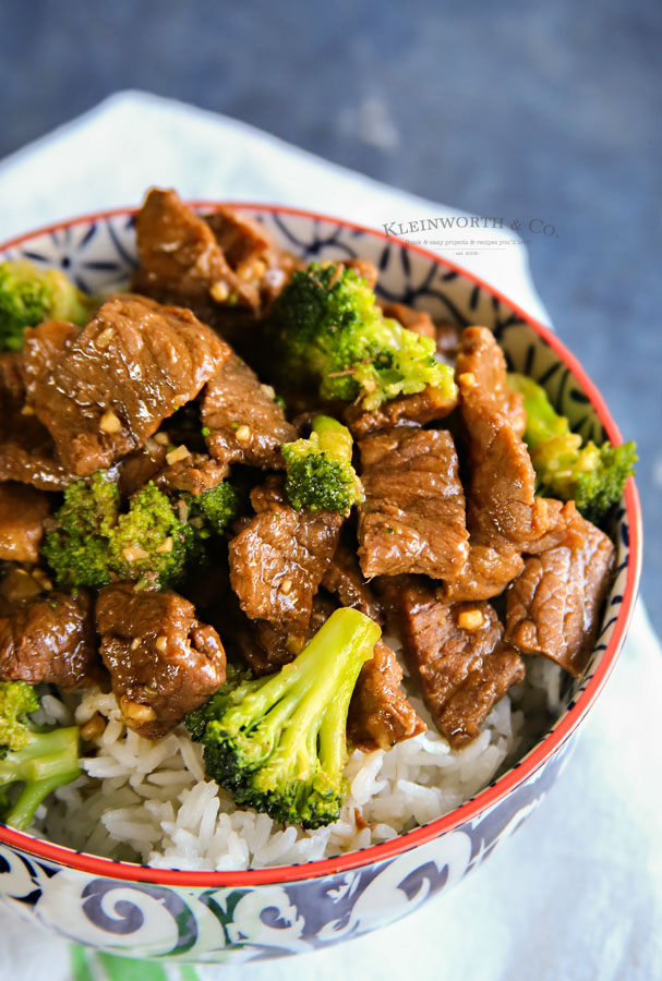 how to make instant pot beef broccoli