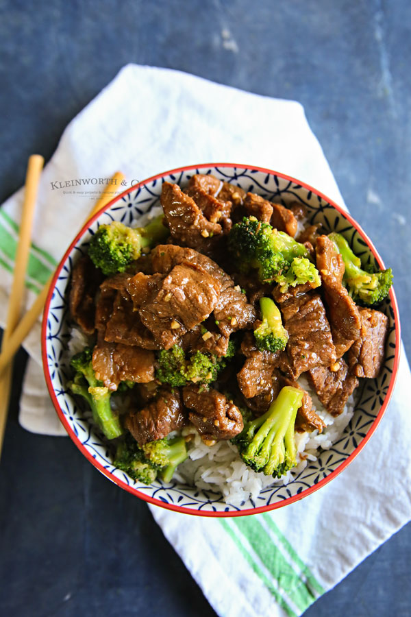 pressure cooker beef broccoli