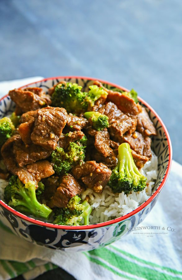 easiest recipe for beef broccoli