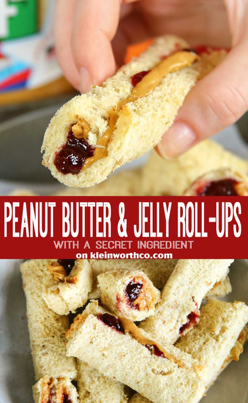 Peanut Butter & Jelly Roll-Ups