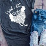I Wake the Rooster Craft - Early Riser Cricut Project