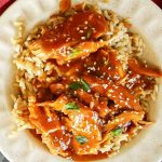 Instant Pot Honey Sesame Chicken dinner recipe