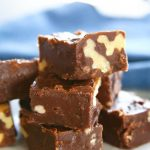 5-Minute Walnut Fudge