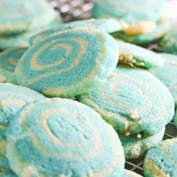 How to make Jack Frost Pinwheel Cookies