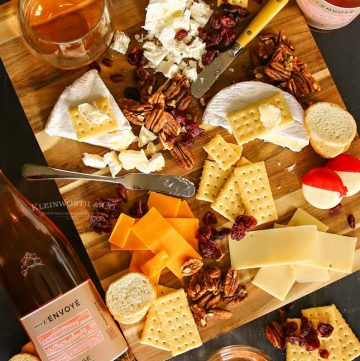 Beaujolais Wine & Cheese Pairing List for a Holiday Party