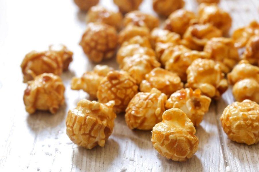 Instant Pot Caramel Popcorn