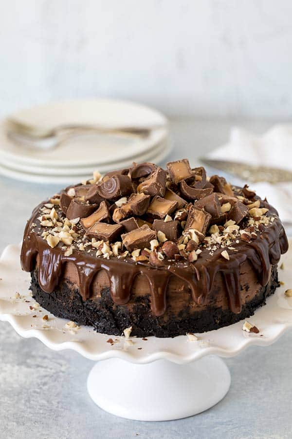 Nutella Rolo Cheesecake