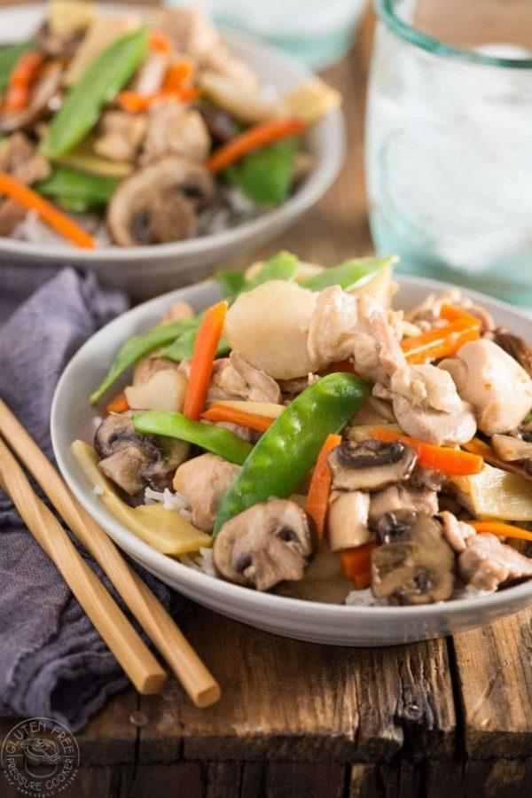 Pressure Cooker Moo Goo Gai Pan