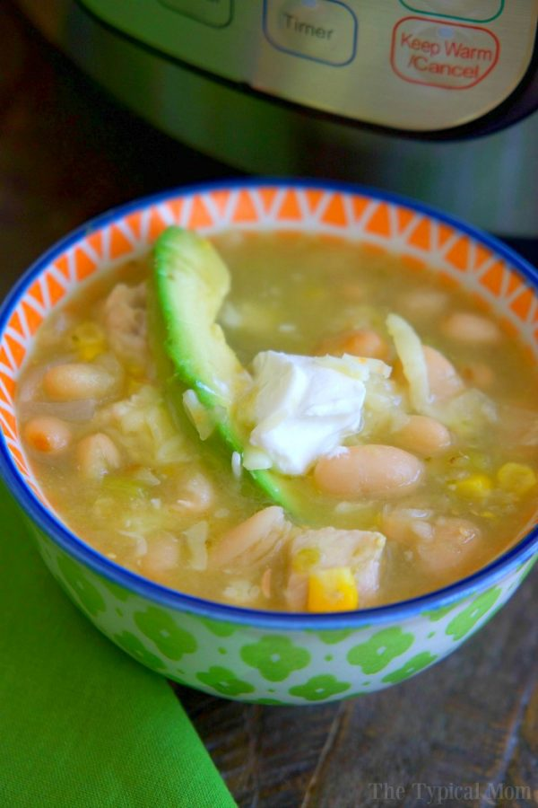 5 Minute Instant Pot White Chicken Chili