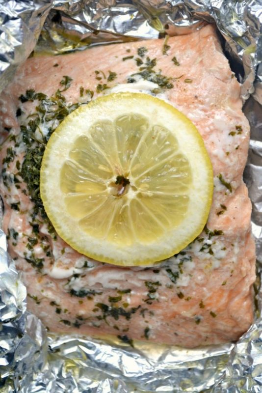 salmon fgoil packet