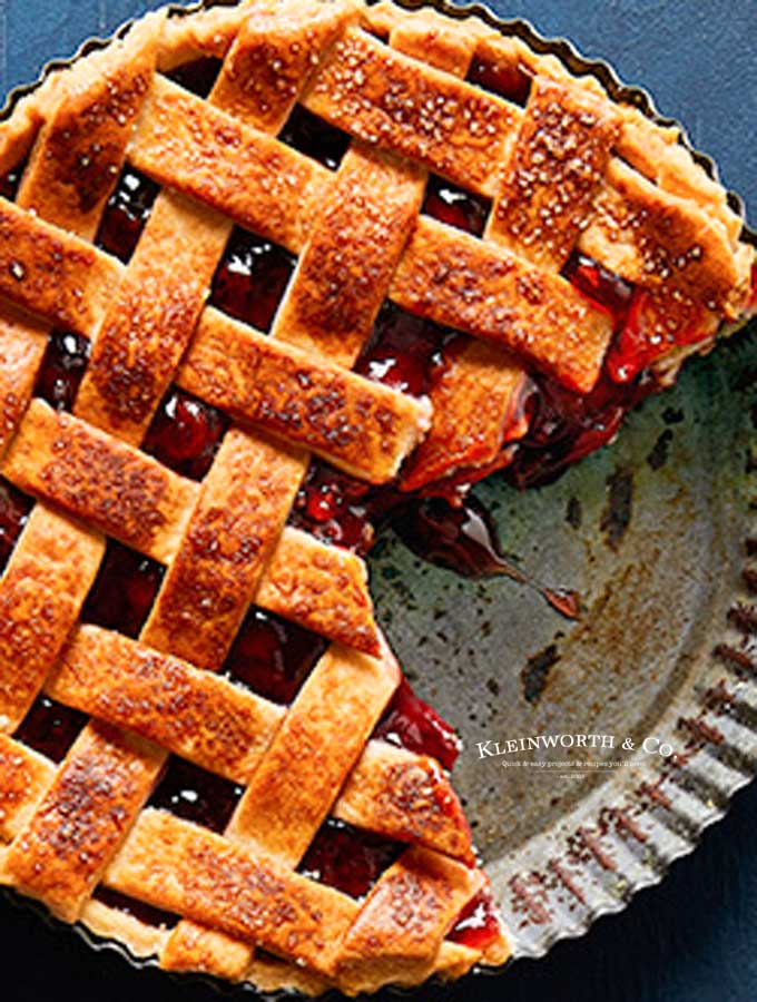 recipe for Cherry Pie - Air Fryer