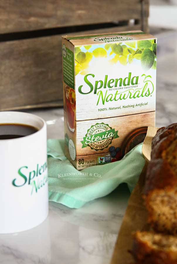 Buttermilk Banana Bread with Splenda Naturals