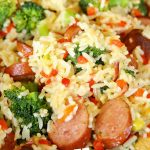 Cheesy Broccoli Sausage Skillet Dinner