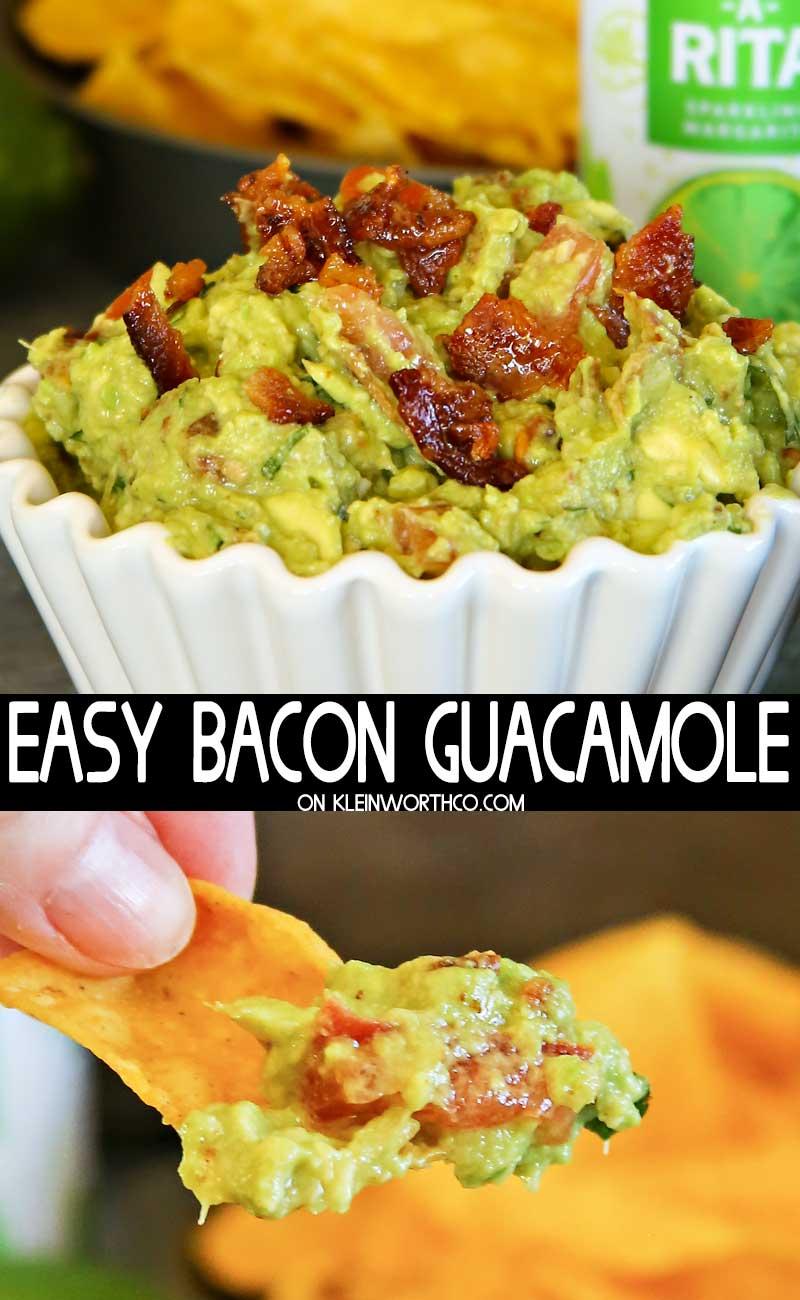Easy Bacon Guacamole