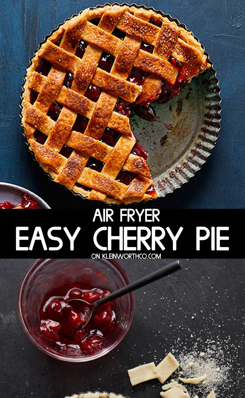 Easy Cherry Pie - Air Fryer