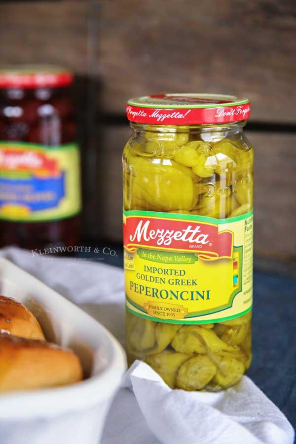 peperoncini - Pressure Cooker Italian Beef Sliders
