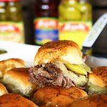 Pressure Cooker Italian Beef Sliders Recipe