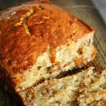 Air Fryer Banana Bread recipe
