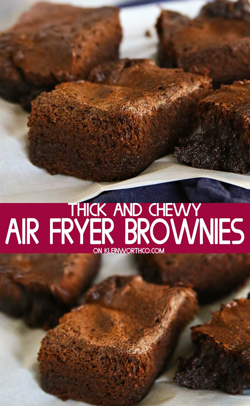 Air Fryer Brownies