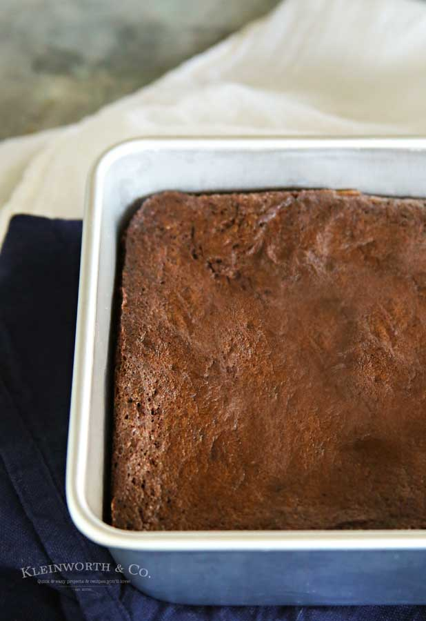 Air Fryer Brownies recipe