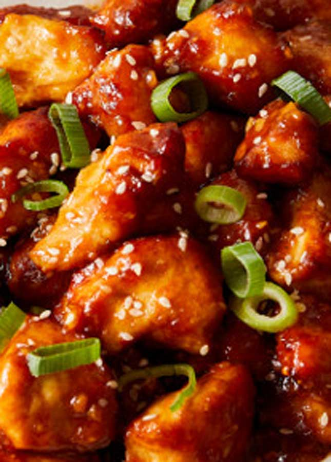 How to make Easy General Tso's Chicken - Air Fryer