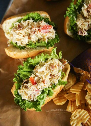 Dungeness Crab - Easy Bacon Crab Roll