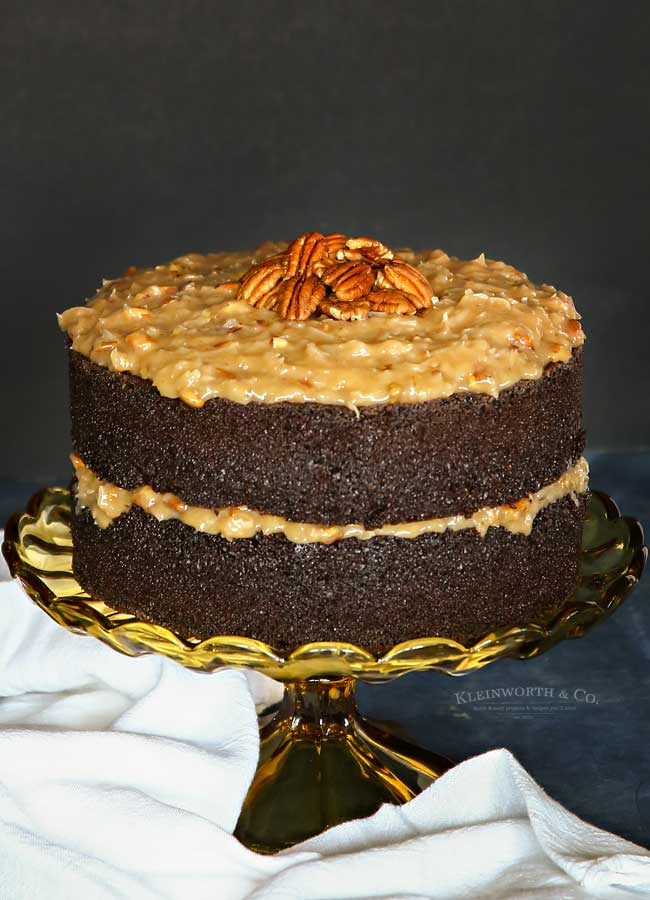 How to make the Best German Chocolate Cake