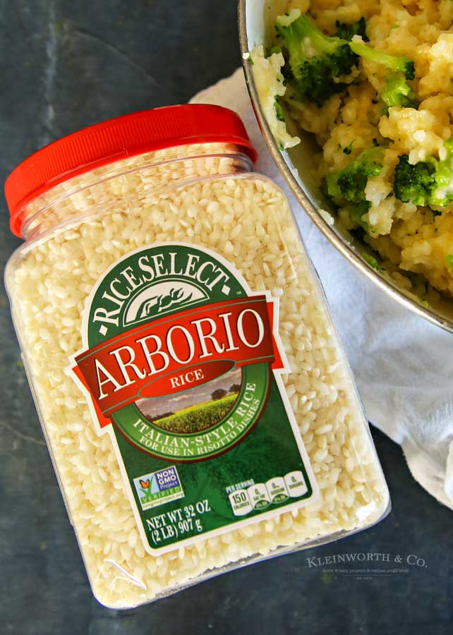Arborio rice - Cheesy Broccoli Rice