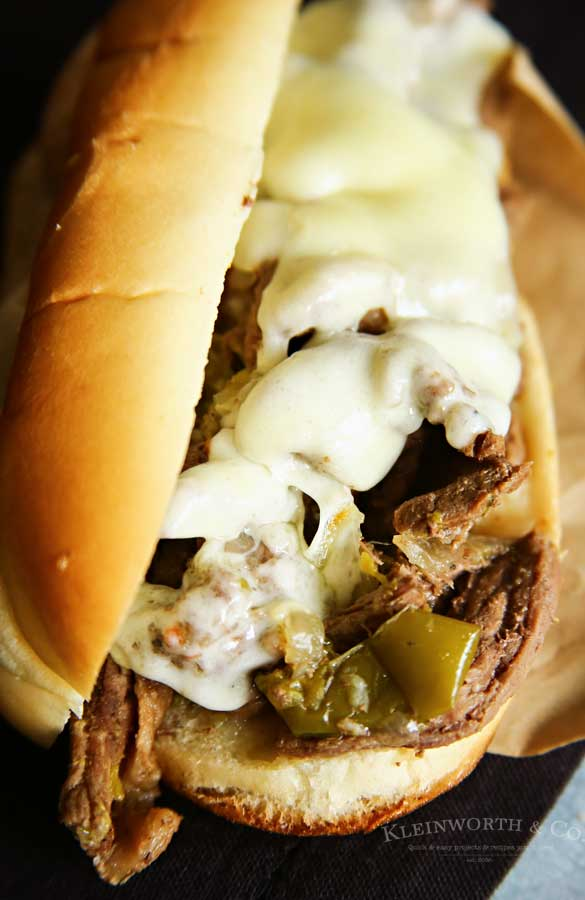 Instant Pot Philly Cheesesteak recipe