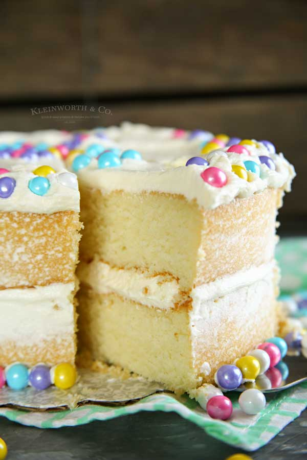 2 layer white cake recipe