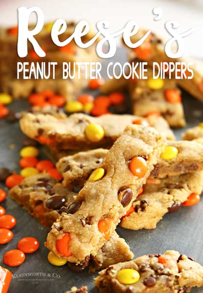 Reese's Peanut Butter Cookie Dippers 600