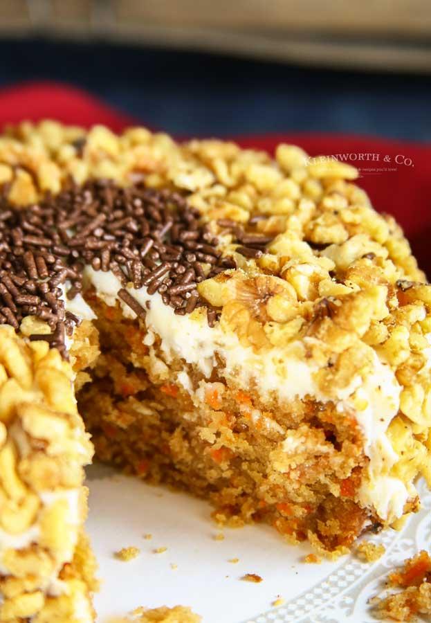 Crockpot - Slow Cooker Carrot Cake
