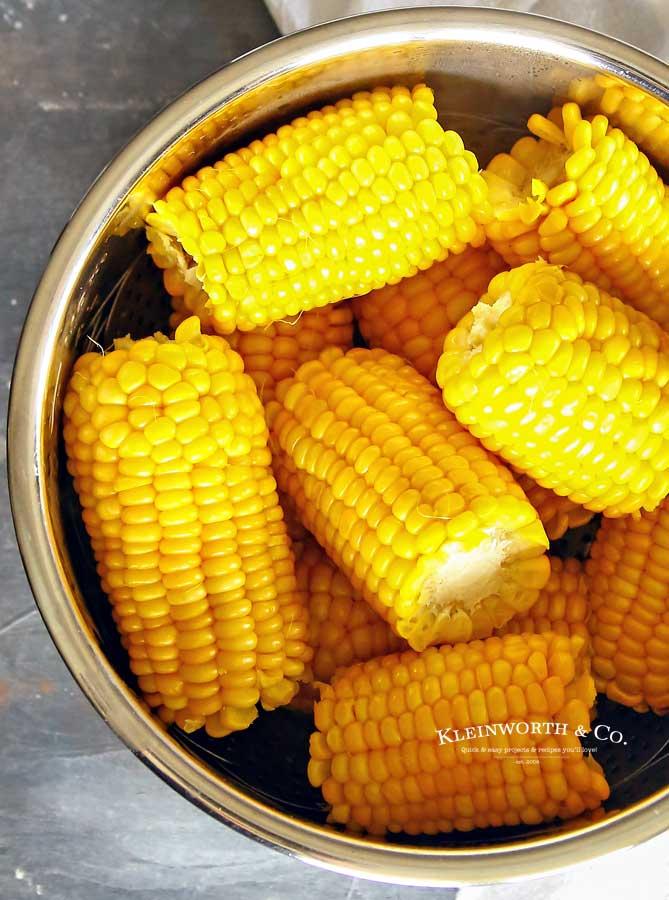 side dish recipe - 3-Minute Instant Pot Corn on the Cob