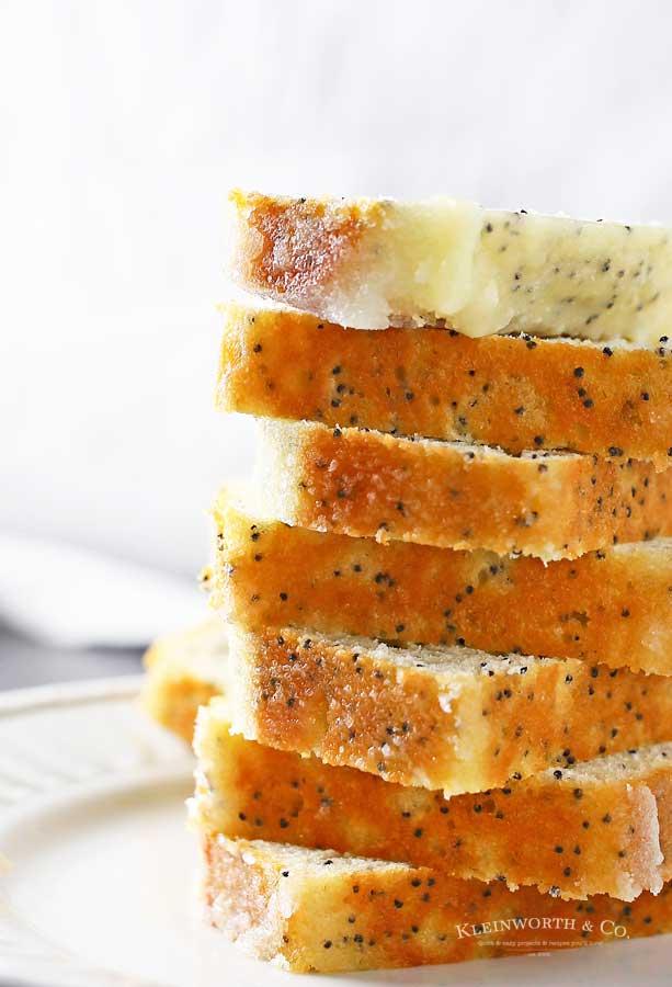 Recipe for Lemon Poppy Seed Cake
