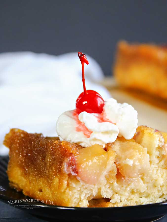 How to make Peach Pineapple Upside Down Cake