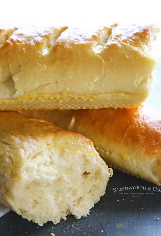 yeast bread recipe - Homemade French Bread
