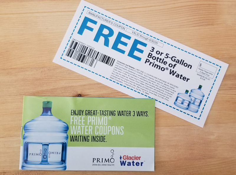 coupons for drinking water - how to stay hydrated